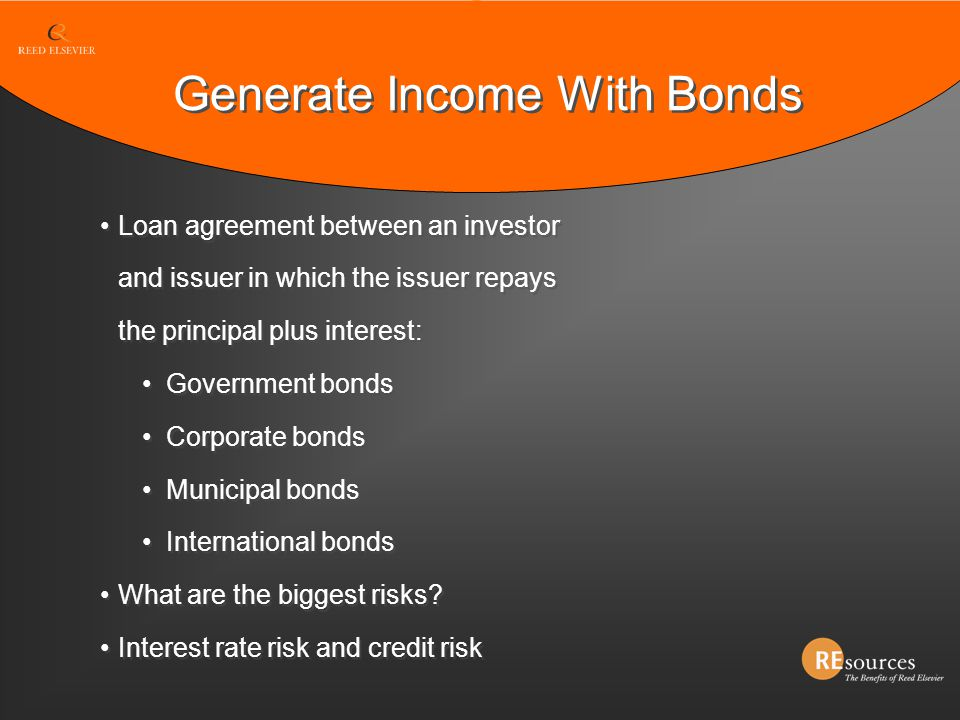 Generate Income With Bonds