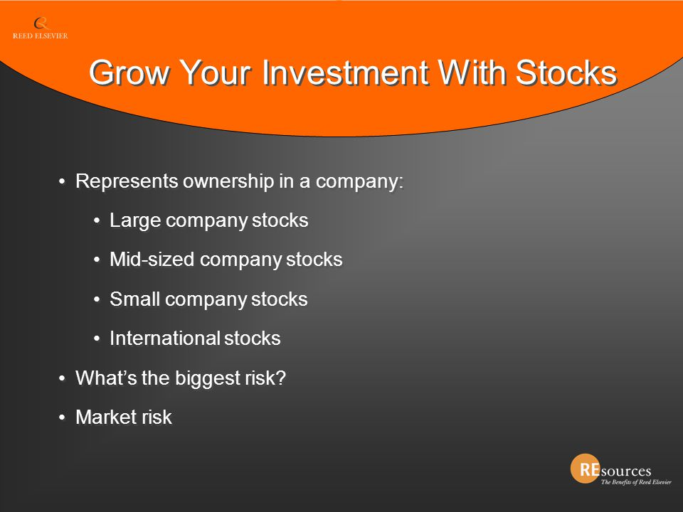 Grow Your Investment With Stocks