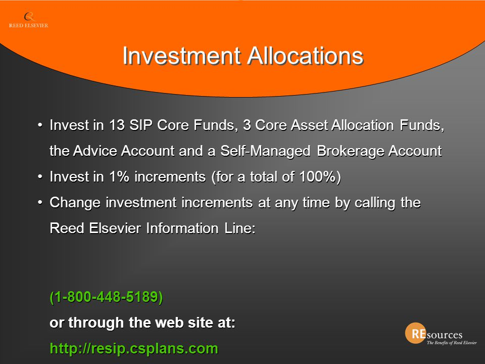 Investment Allocations
