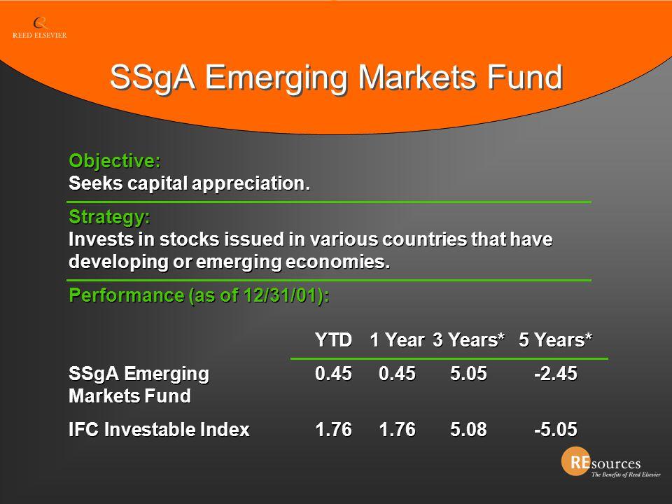 SSgA Emerging Markets Fund