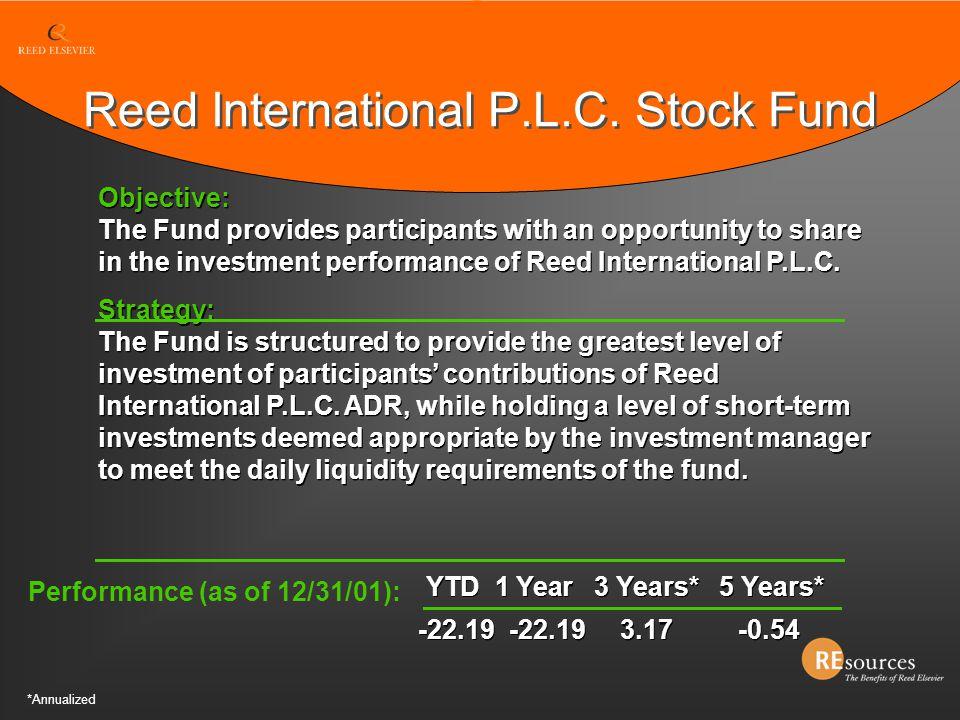 Reed International P.L.C. Stock Fund