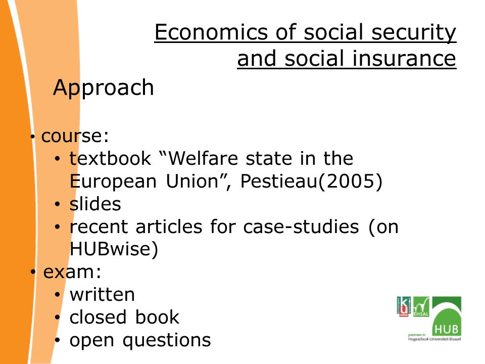 Economics of social security and social insurance