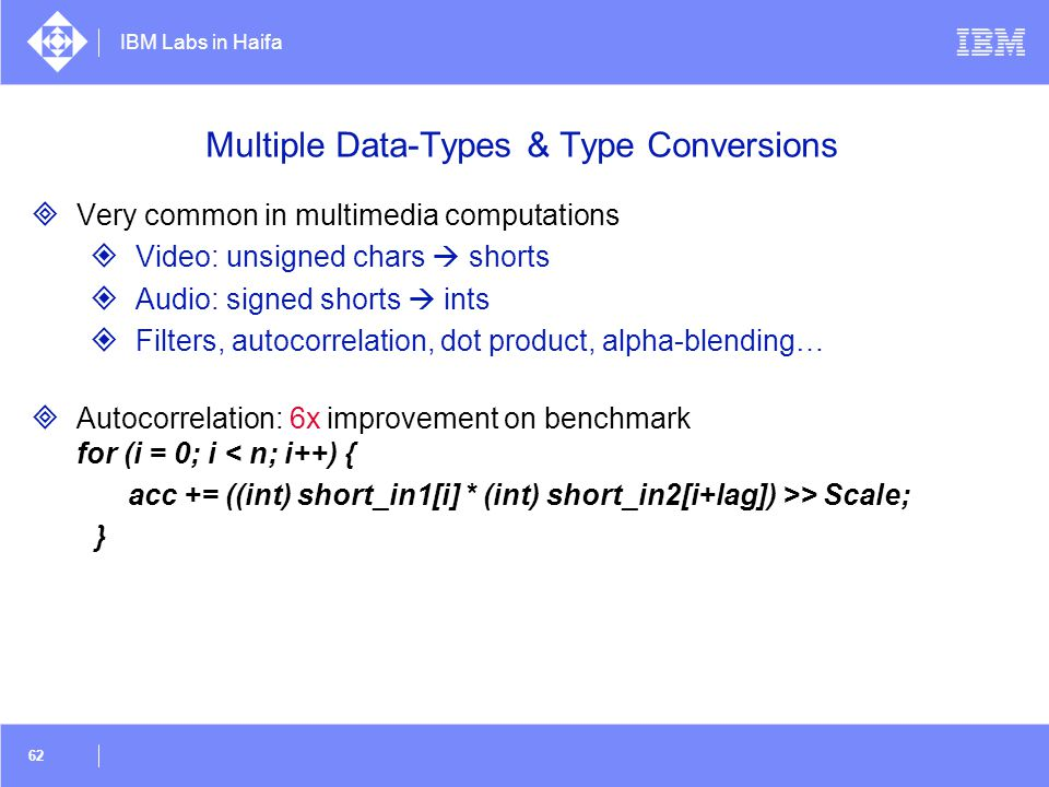 Multiple Data-Types & Type Conversions
