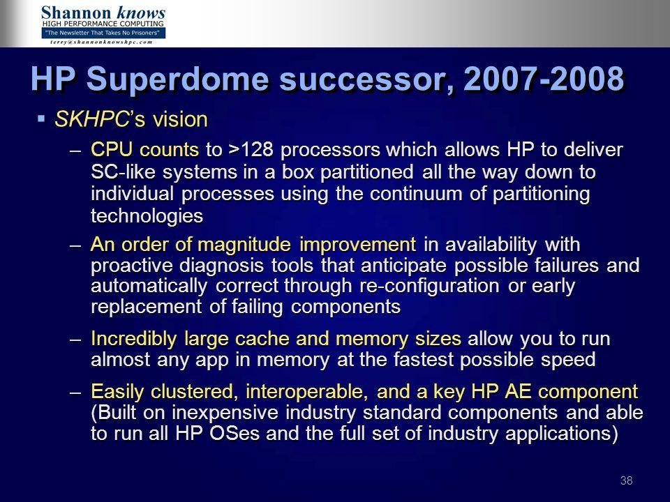 HP Superdome successor, 2007-2008