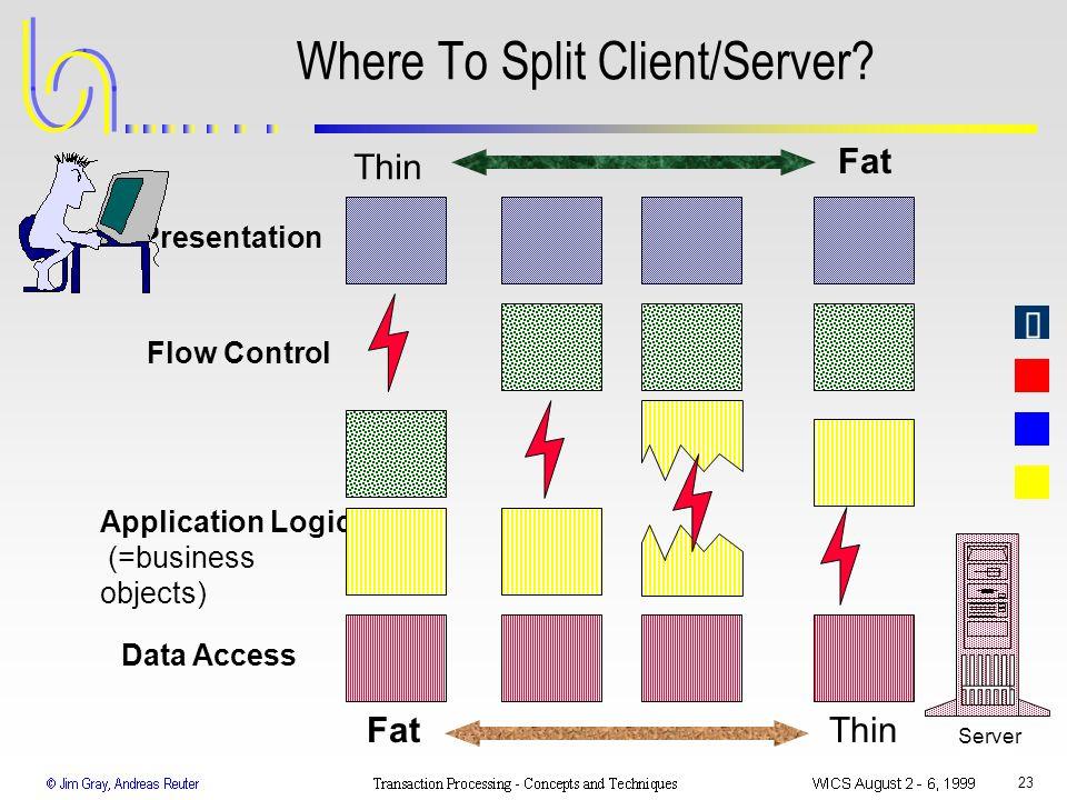 Where To Split Client/Server