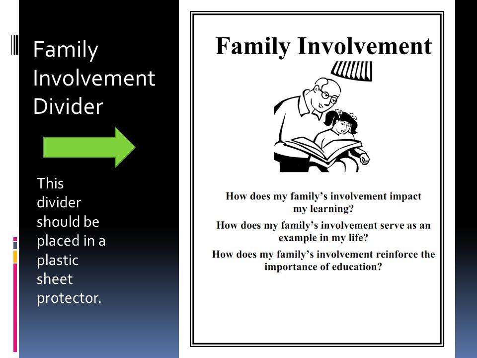 Family Involvement Divider