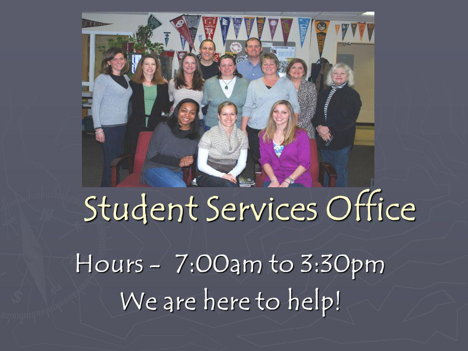 Student Services Office