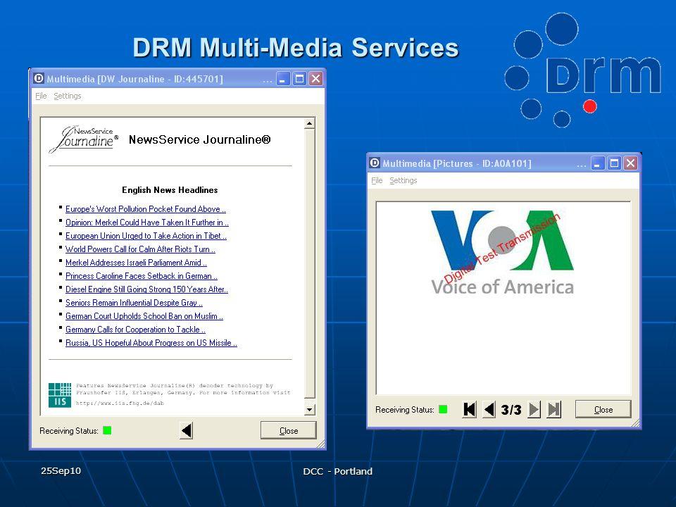 DRM Multi-Media Services