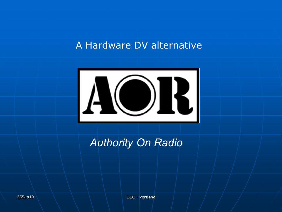 A Hardware DV alternative