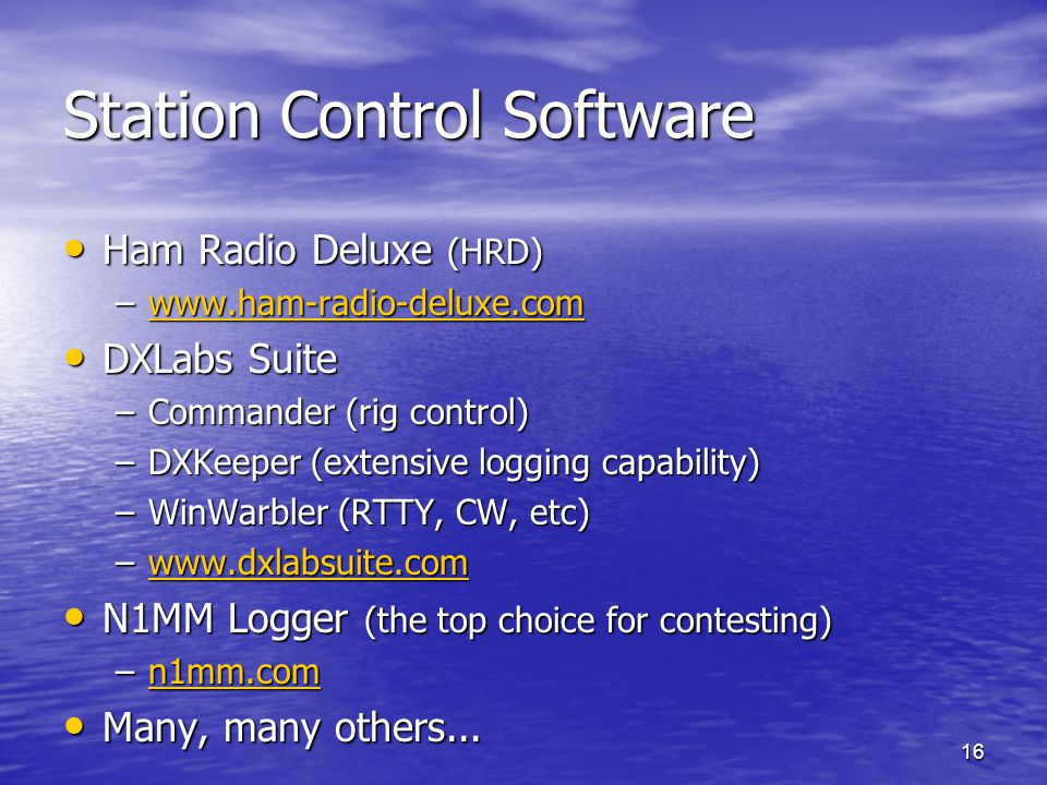 Station Control Software