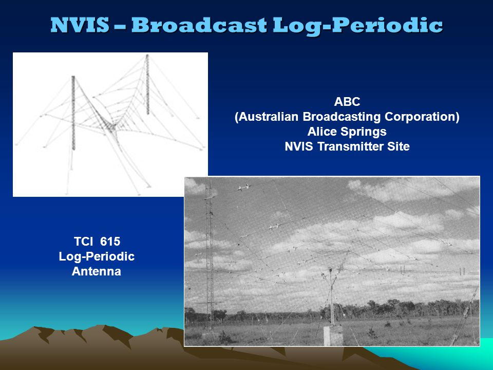 NVIS – Broadcast Log-Periodic