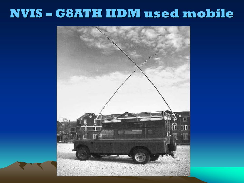 NVIS – G8ATH IIDM used mobile