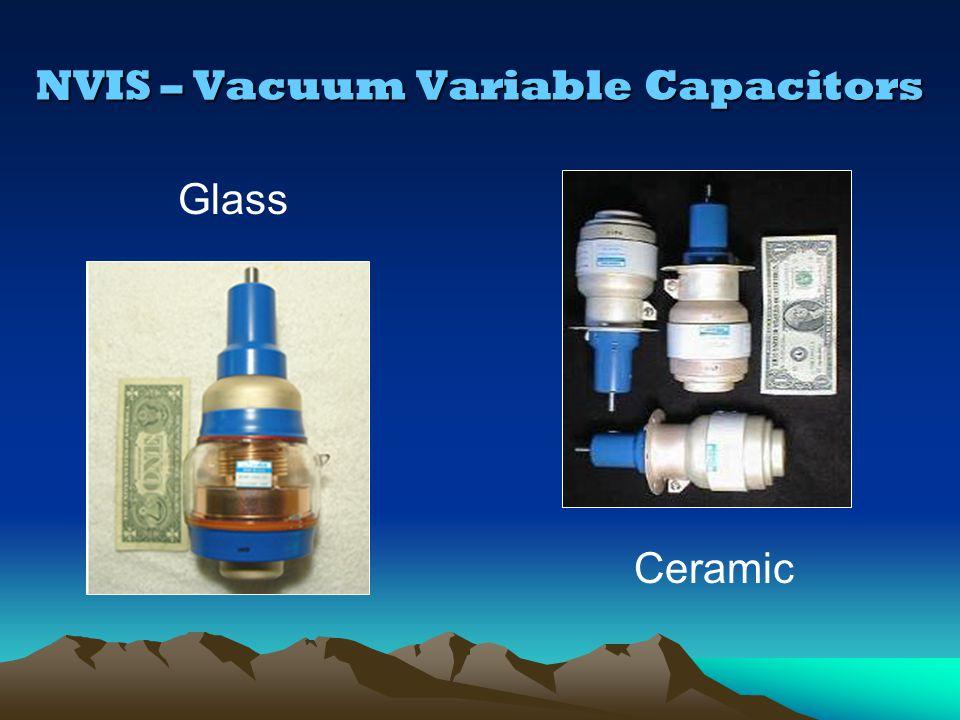 NVIS – Vacuum Variable Capacitors
