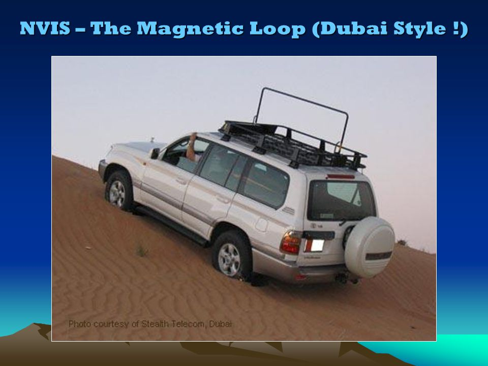 NVIS – The Magnetic Loop (Dubai Style !)