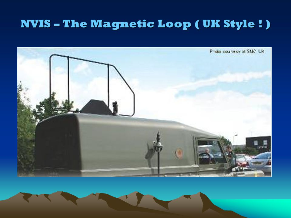 NVIS – The Magnetic Loop ( UK Style ! )