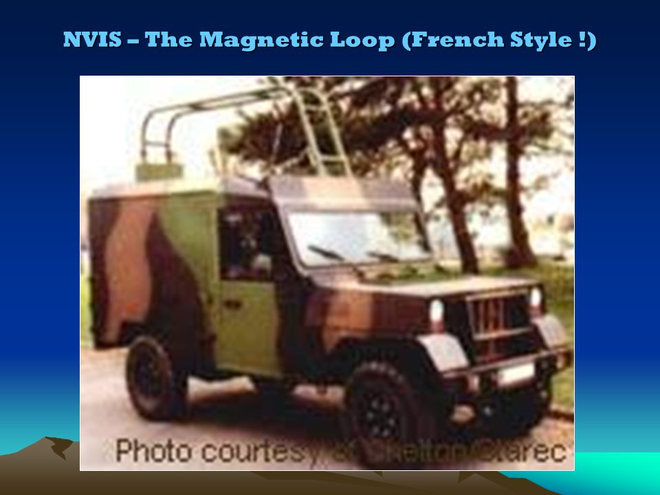NVIS – The Magnetic Loop (French Style !)