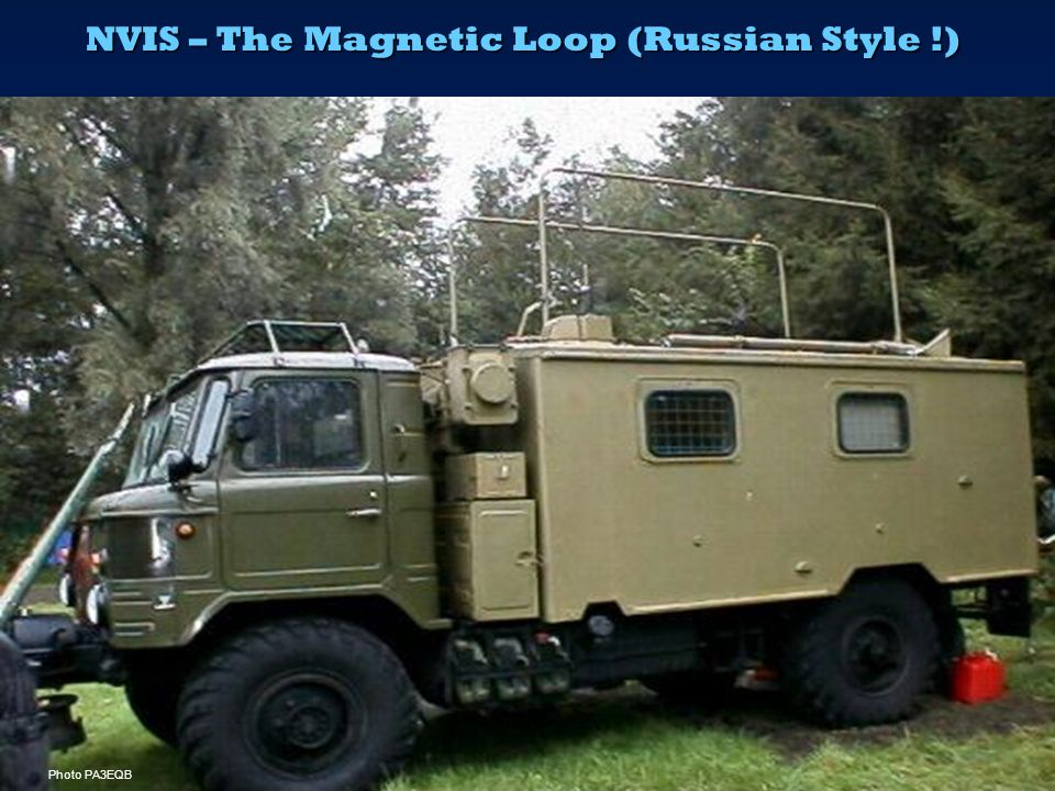 NVIS – The Magnetic Loop (Russian Style !)