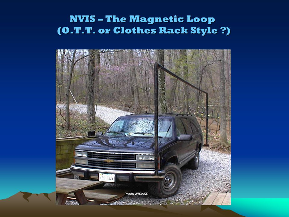 NVIS – The Magnetic Loop (O.T.T. or Clothes Rack Style )