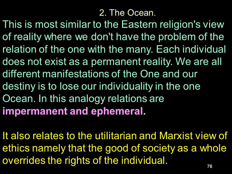 2. The Ocean.