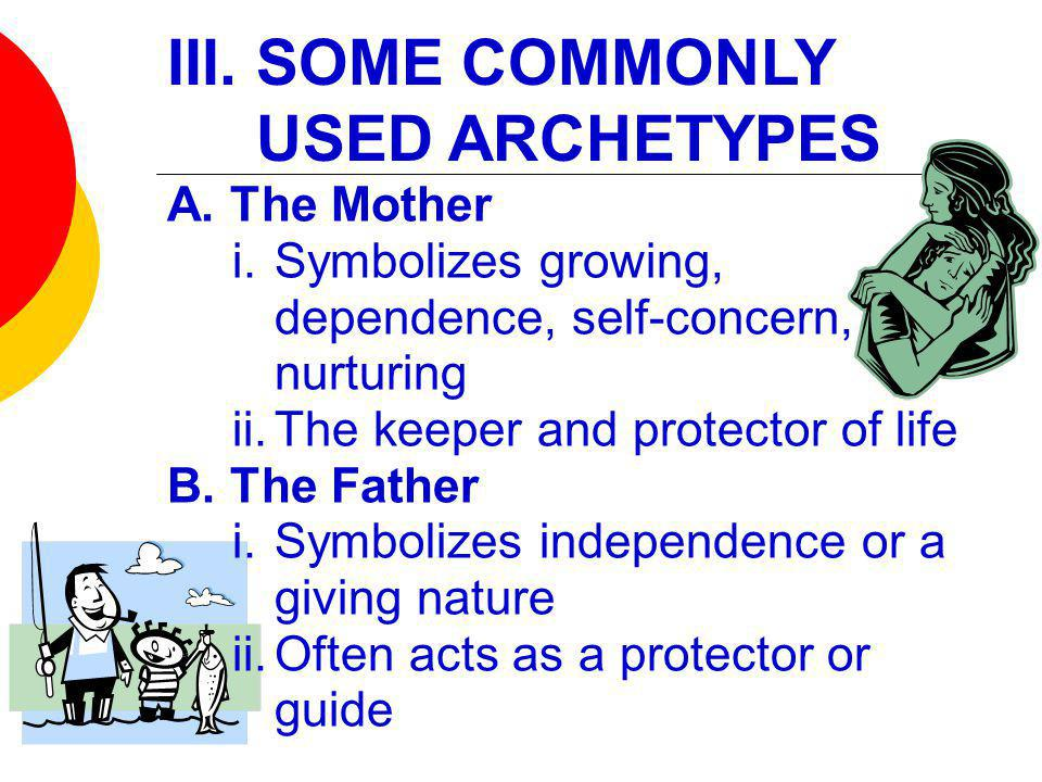 III. SOME COMMONLY USED ARCHETYPES