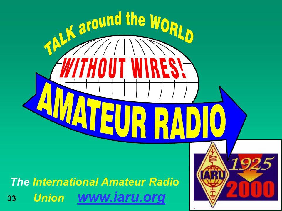 The International Amateur Radio