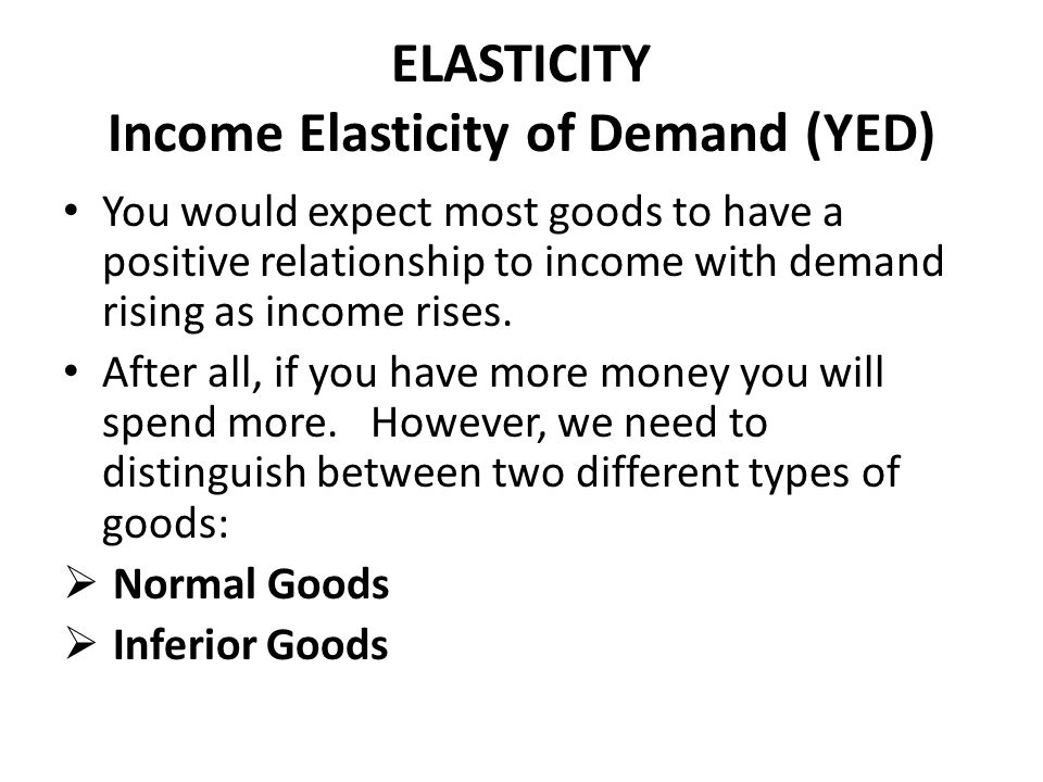 theory of elasticity of demand pdf