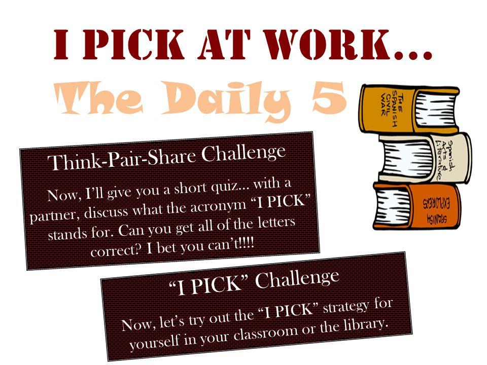 Think-Pair-Share Challenge