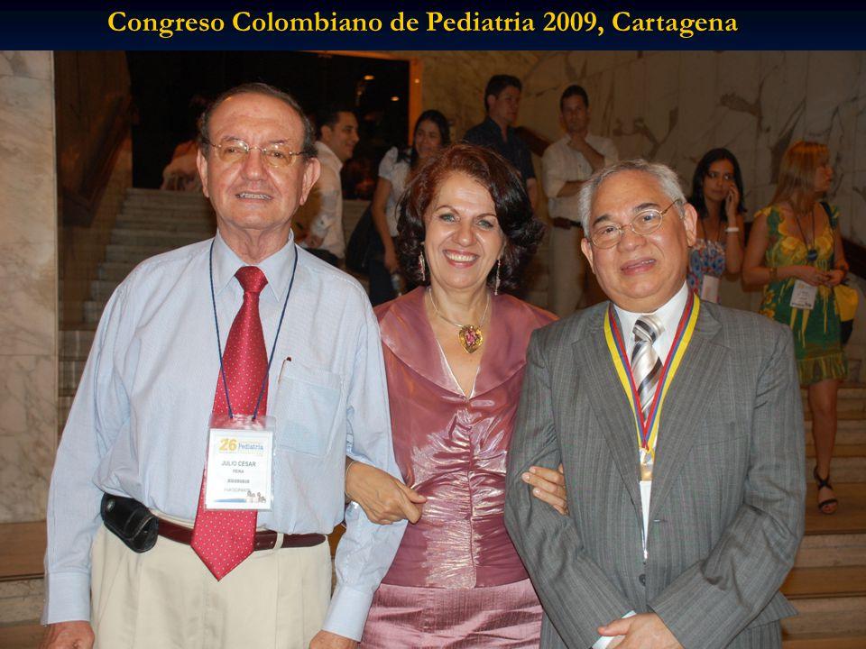 Congreso Colombiano de Pediatria 2009, Cartagena
