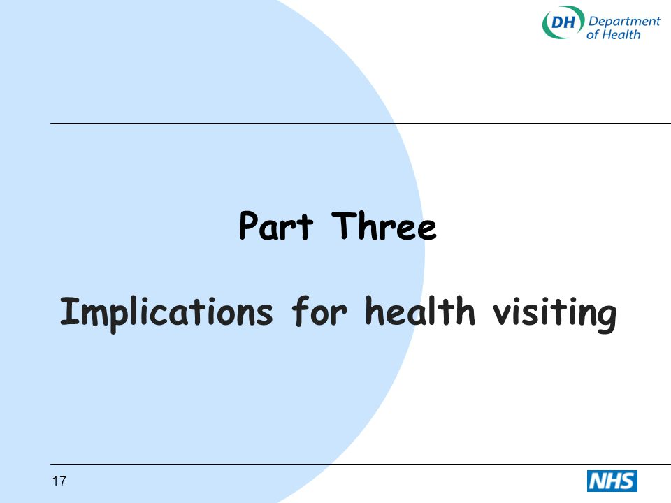 Implications for health visiting