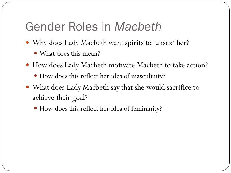 Gender Roles in Macbeth