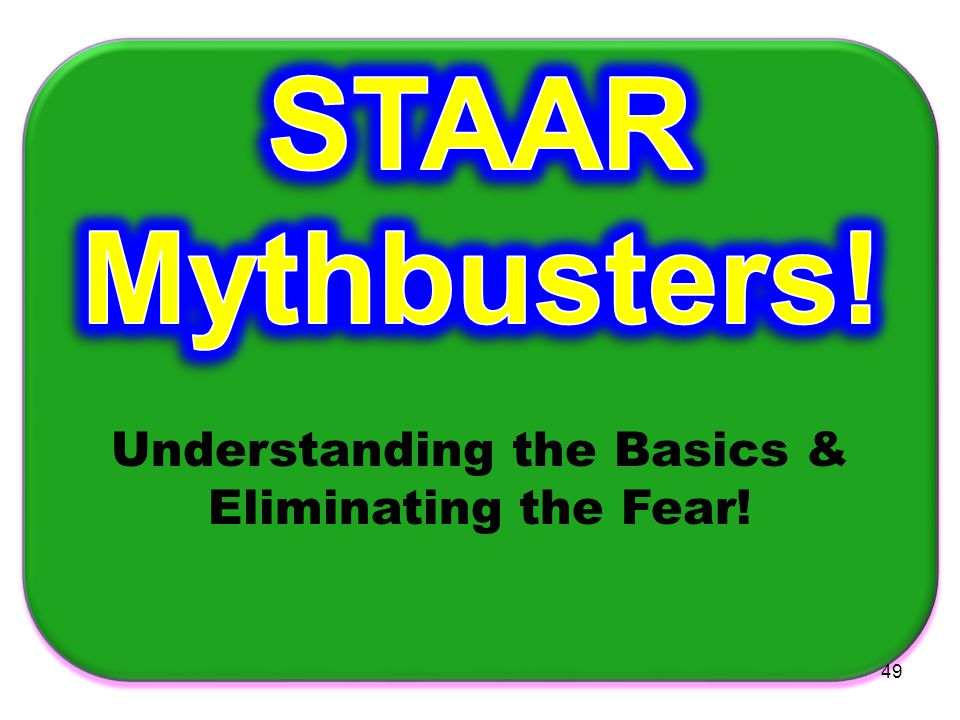 Understanding the Basics & Eliminating the Fear!