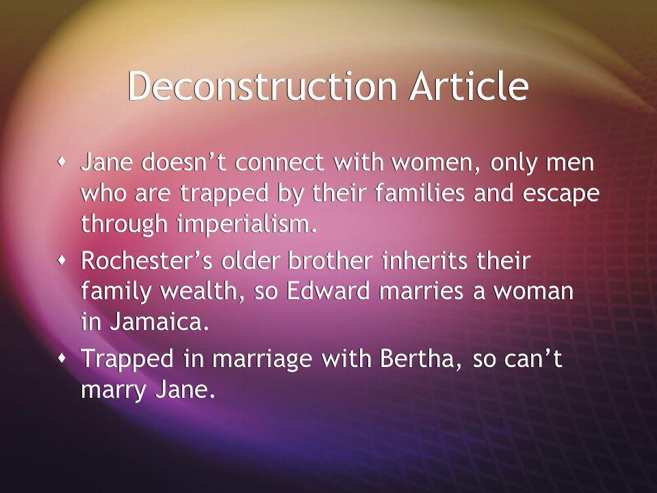Deconstruction Article