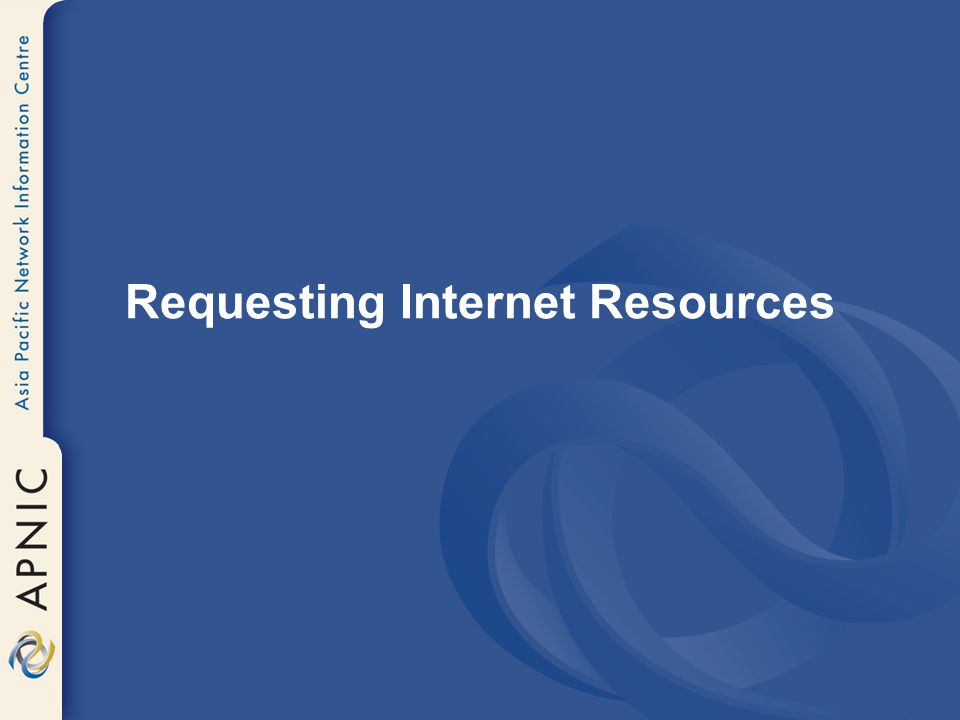 Requesting Internet Resources