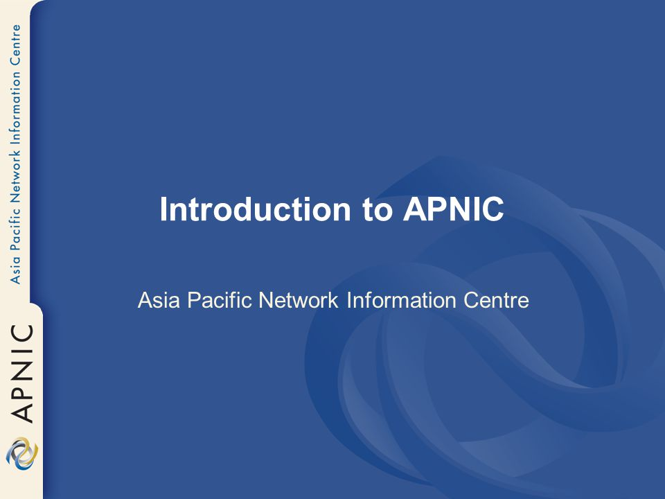 Asia Pacific Network Information Centre