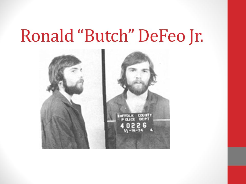 Ronald Butch DeFeo Jr.