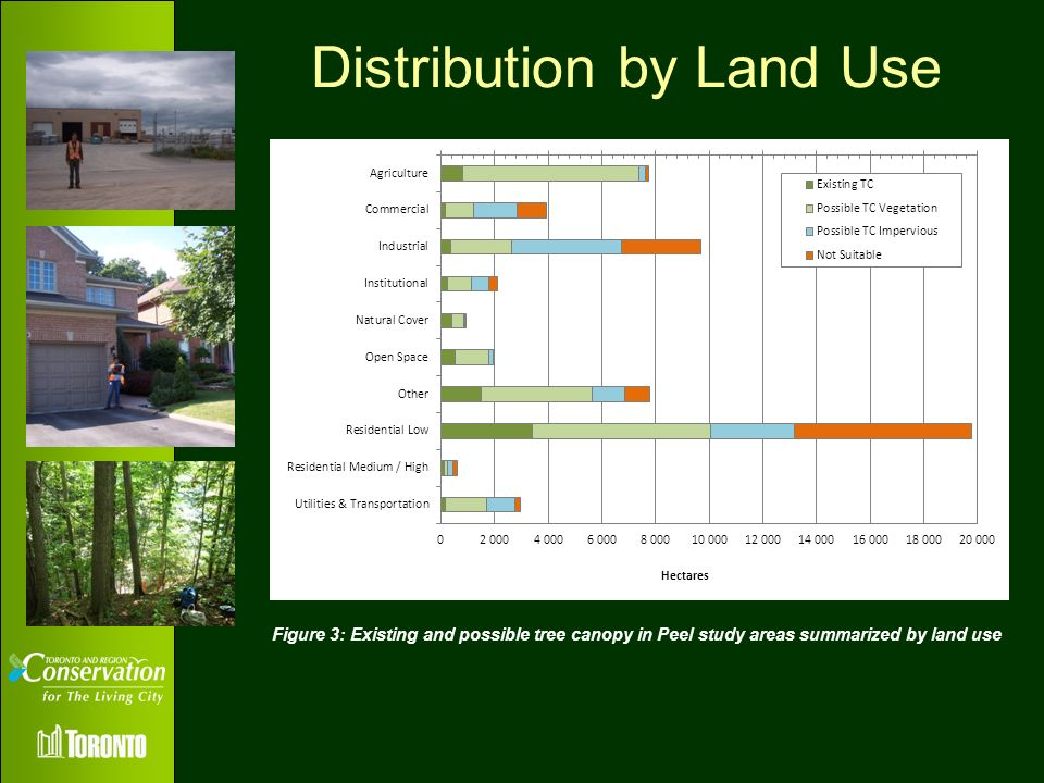 Distribution by Land Use