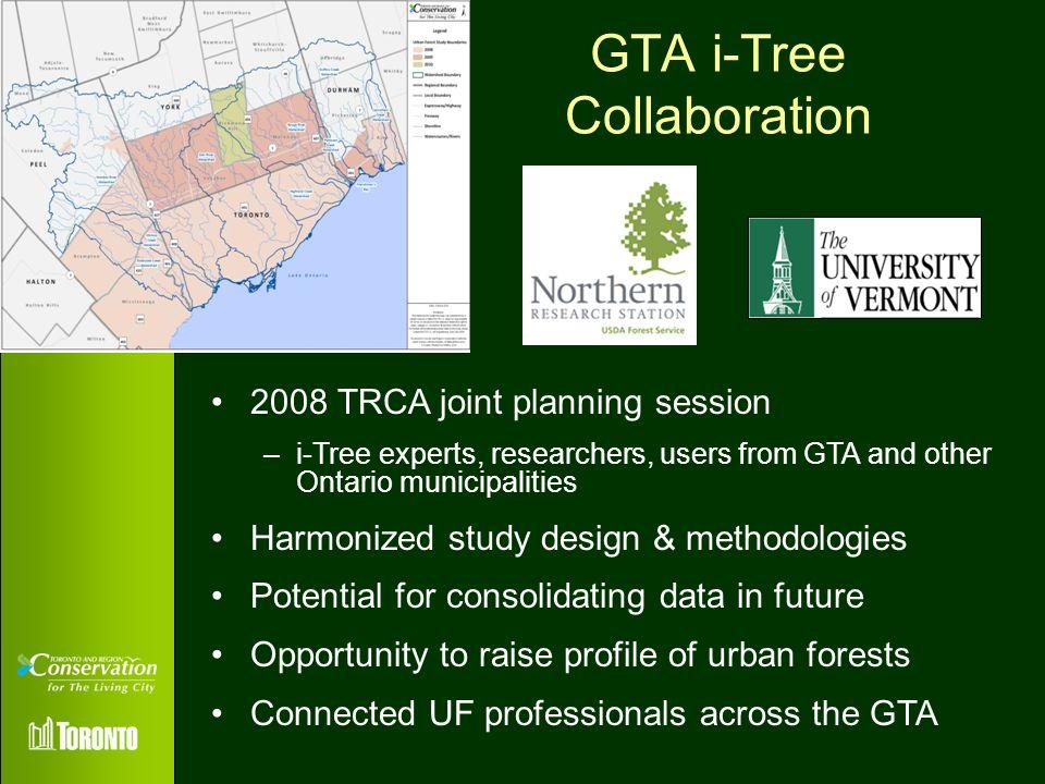 GTA i-Tree Collaboration