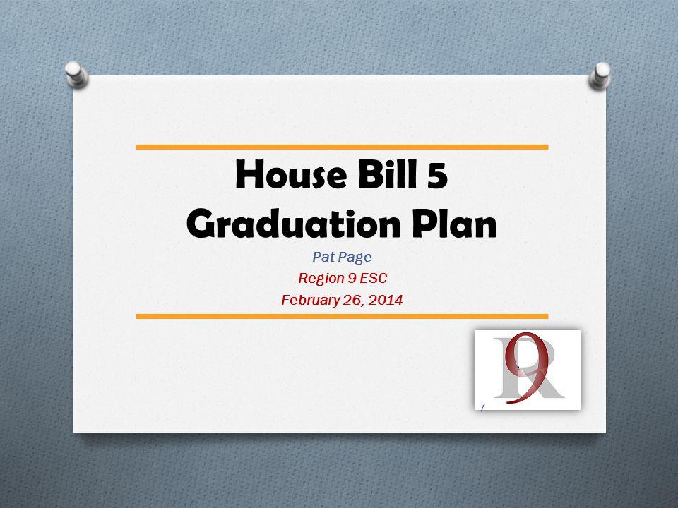 House Bill 5 Graduation Plan