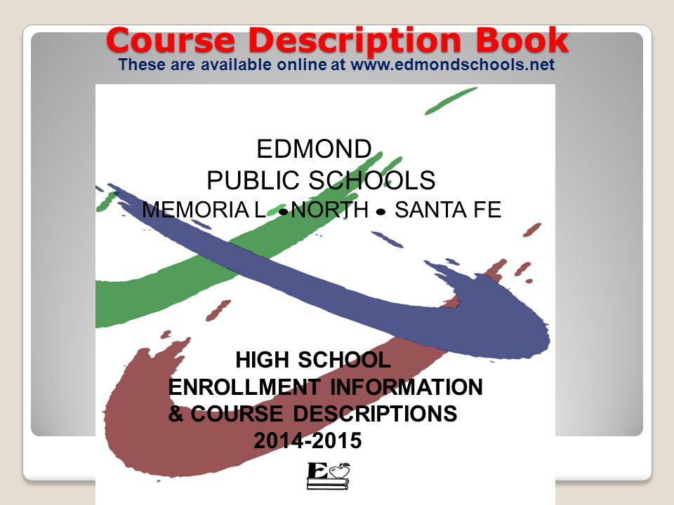 Course Description Book