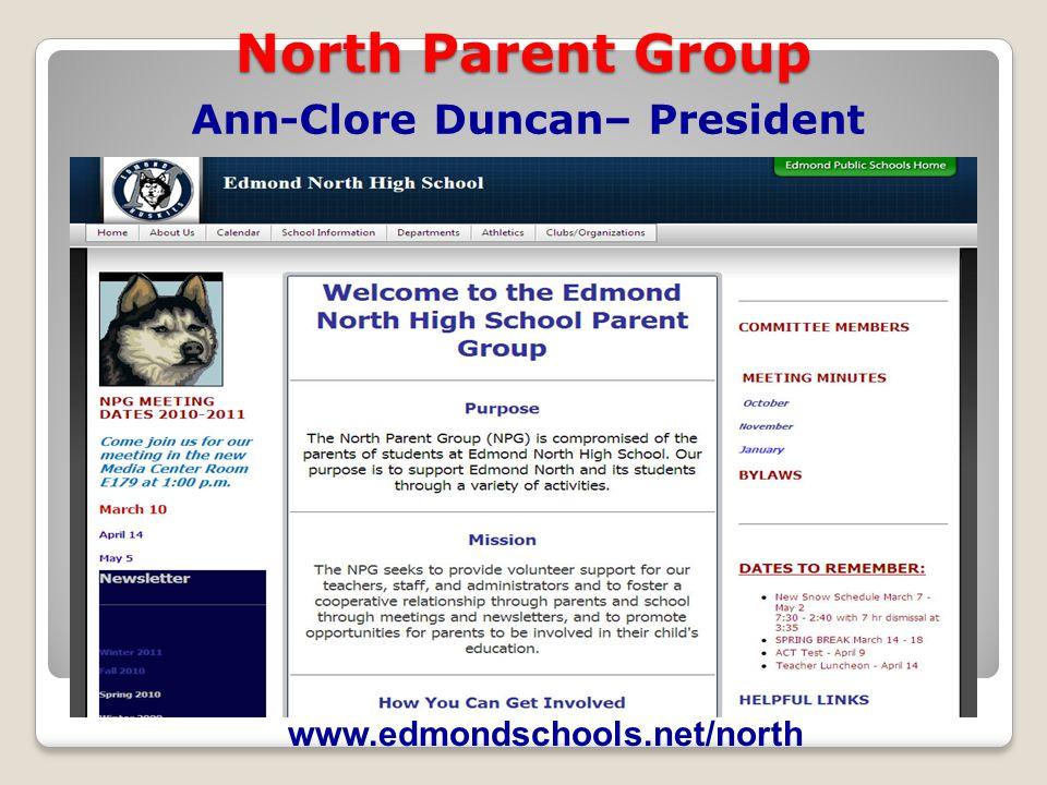 Ann-Clore Duncan– President