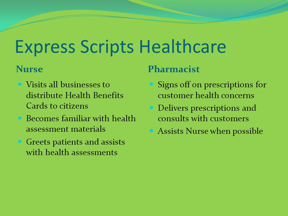 Express Scripts Healthcare