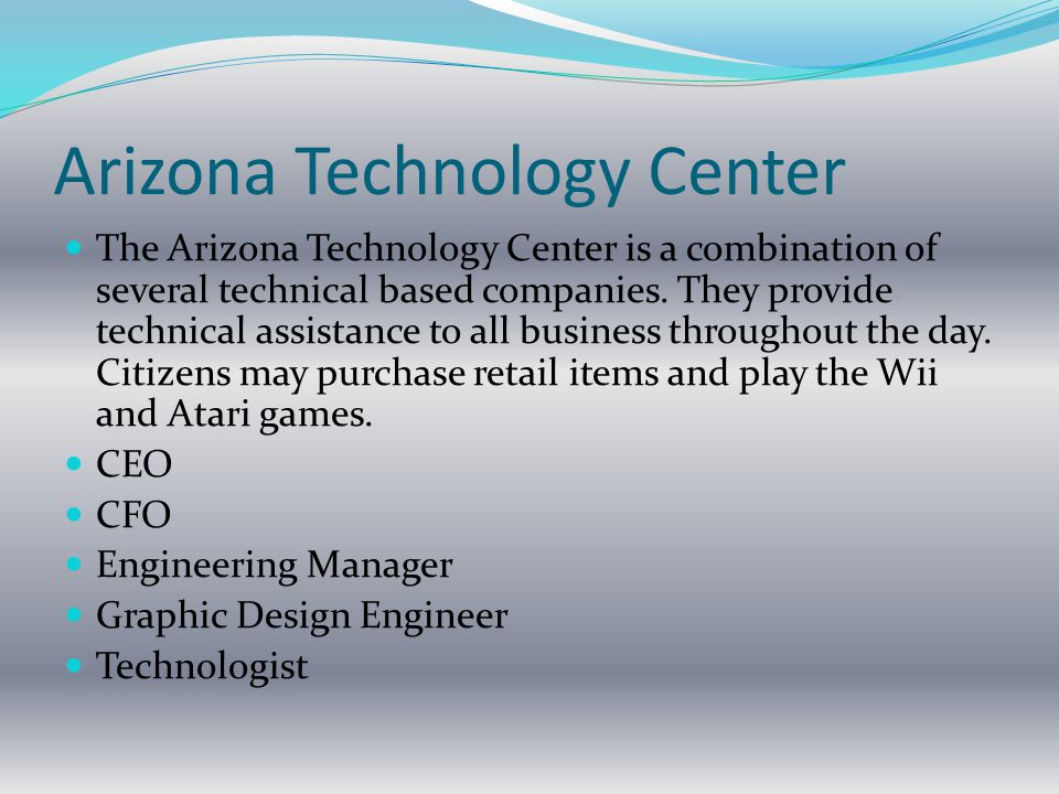 Arizona Technology Center