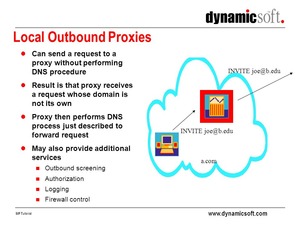 Local Outbound Proxies