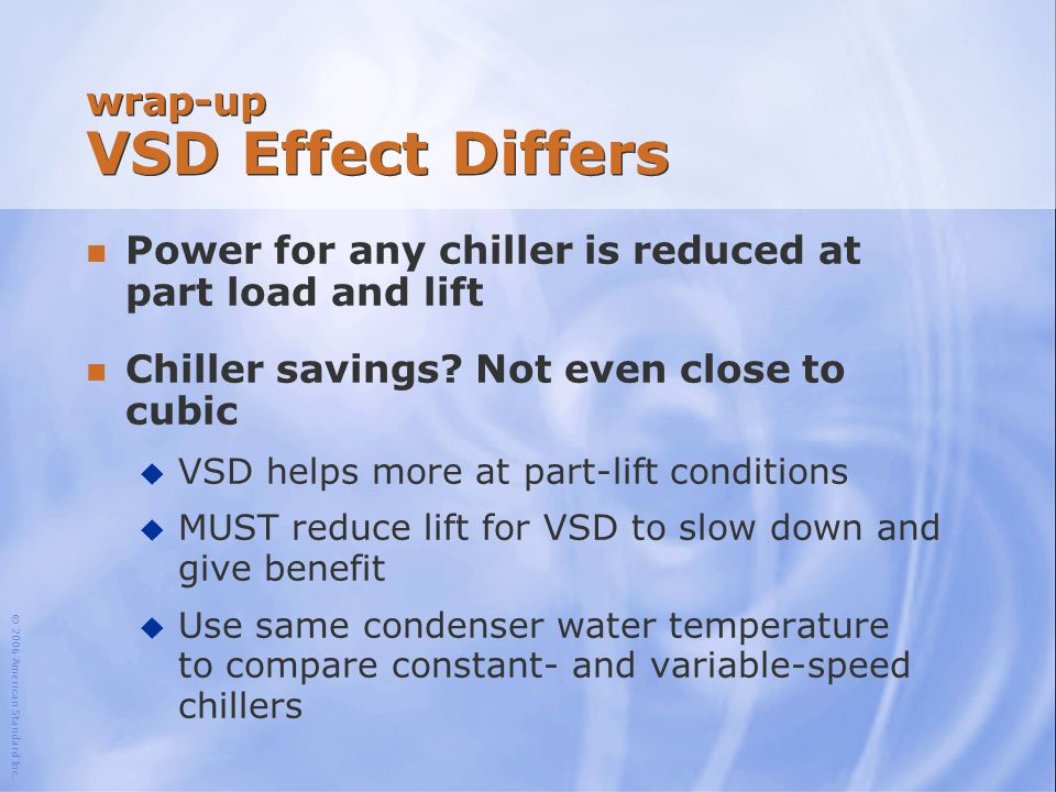 wrap-up VSD Effect Differs