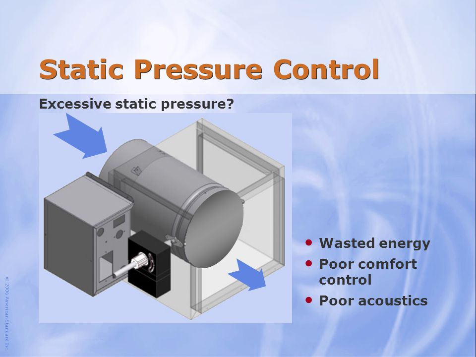 Static Pressure Control