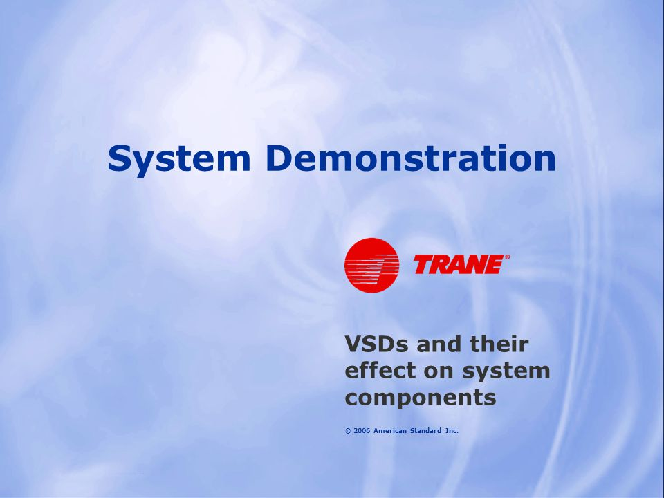 VSDs and their effect on system components
