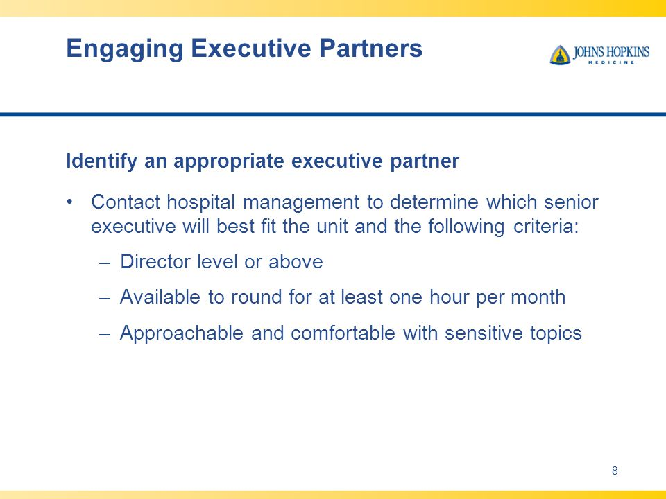 Engaging Executive Partners