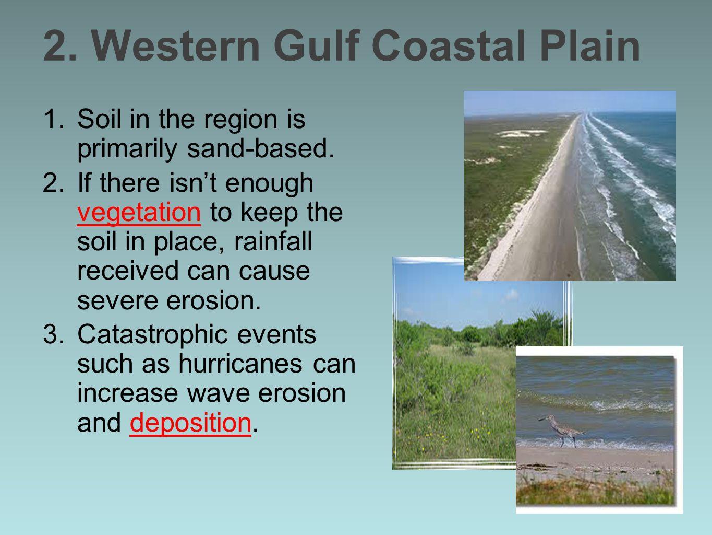 2. Western Gulf Coastal Plain