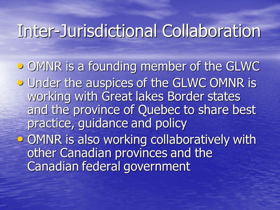 Inter-Jurisdictional Collaboration