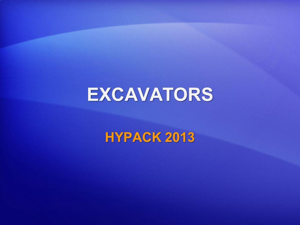 EXCAVATORS HYPACK 2013